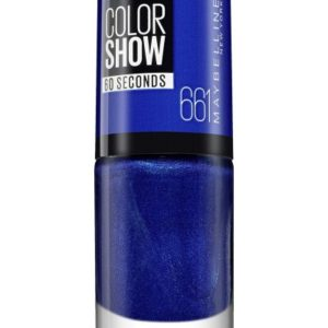Maybelline color show nº 661 ocean blue c/ blister